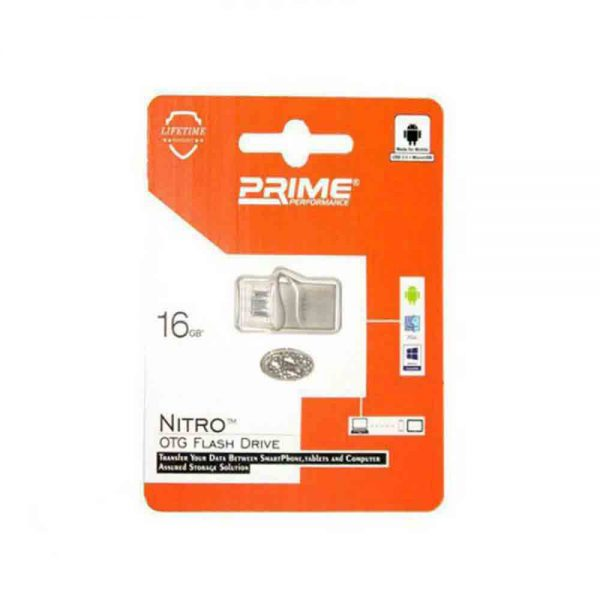Flash Drive OTG Prime Nitro 16GB