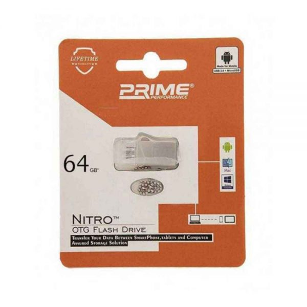 Flash Drive OTG Prime Nitro 64GB