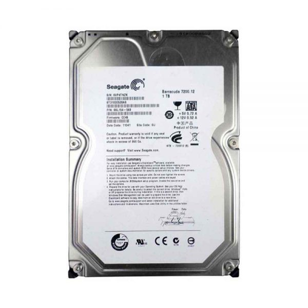 H.D.D Used Seagate ST31000528AS 1TB