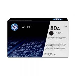 HP Black Original LaserJet Toner Cartridge 80A