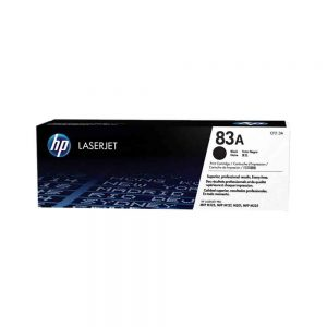 HP Black Original LaserJet Toner Cartridge 83A