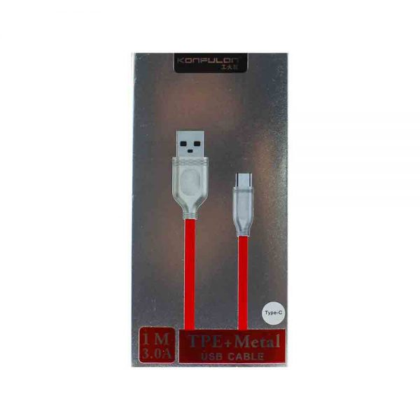 Konfulon Metal Type C Cable S49
