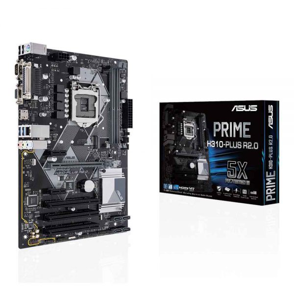 M.B Asus Prime H310-Plus R2.0