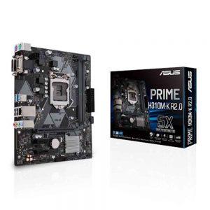 M.B Asus Prime H310M-K R2.0
