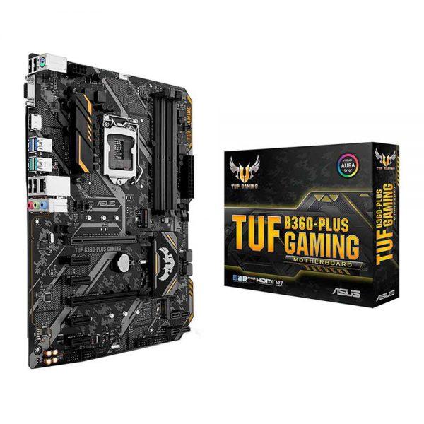 M.B Asus TUF B360-Plus Gaming