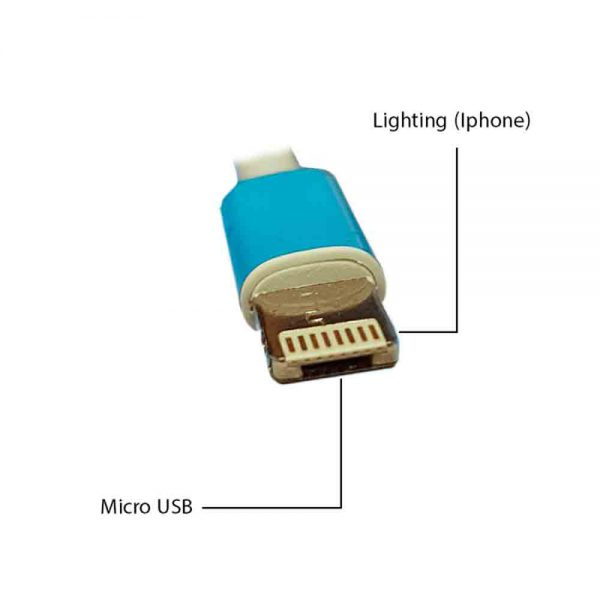 Quick Charge & Data 2in1 Micro USB & iPhone