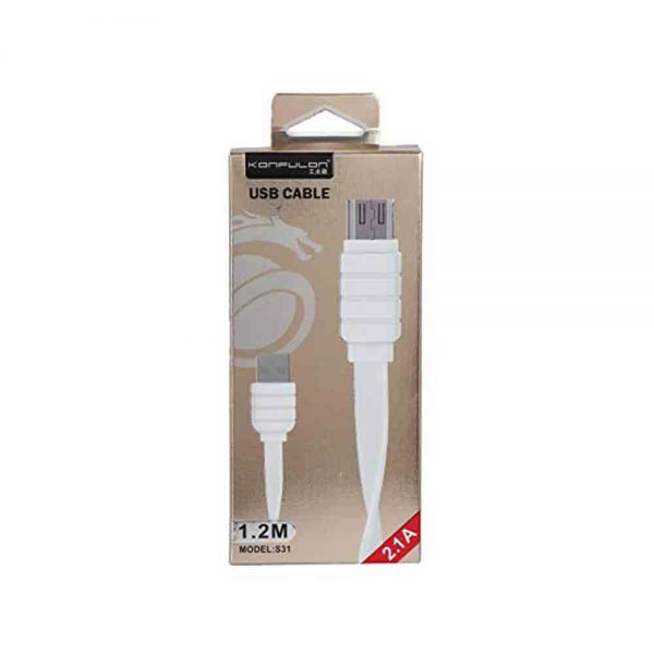 Quick Charge & Data Micro USB Konfulon S31