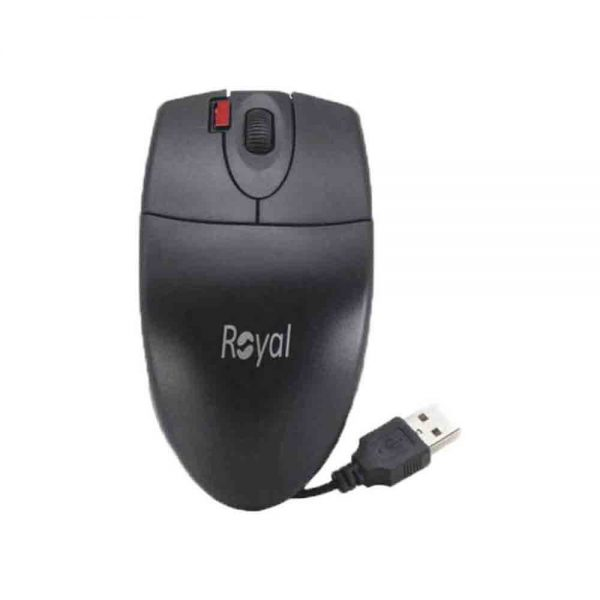 Royal Wired Optical Mouse M-150