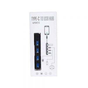 TYPE-C to USB HUB 4 Ports KY-163
