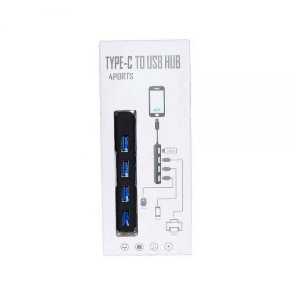 TYPE-C to USB HUB 4 Ports KY-163