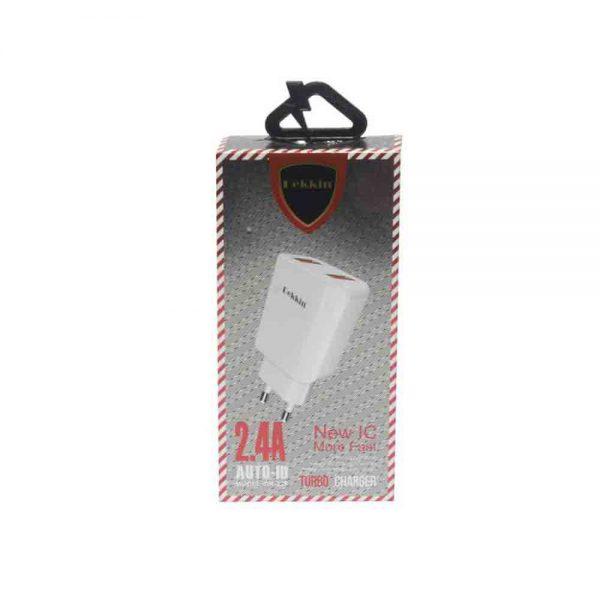 USB Charger Dekkin 2.4A DK-328