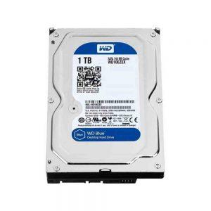 Used W.D Blue H.D.D 1TB