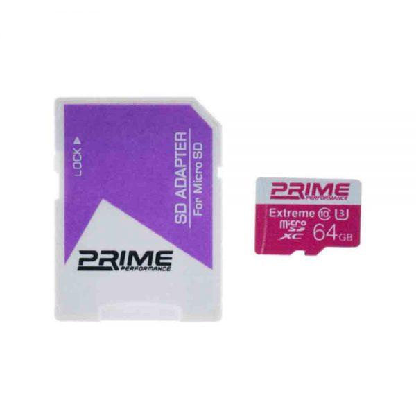 microSDHC Prime V30 95Mb/S 64GB