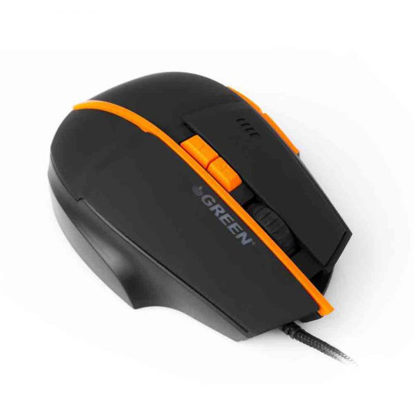 Green Advances Optical Gaming Mouse GM601