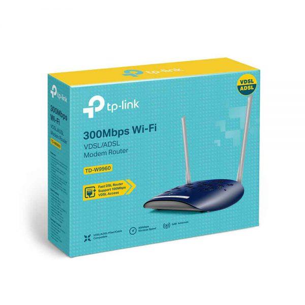 Modem TP-Link 300Mbps Wireless N VDSLADSL TD-W9960