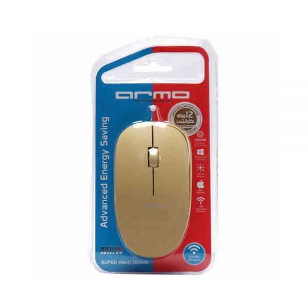 Armo Wireless Mouse M11W Beige