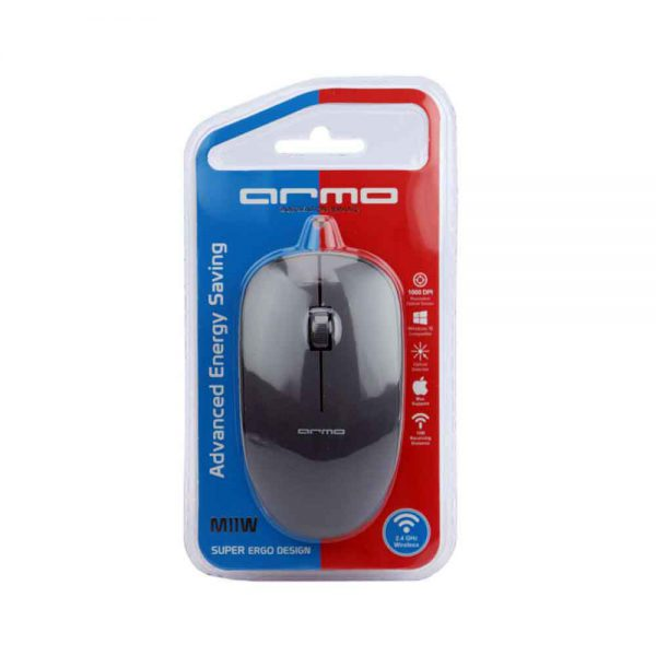 Armo Wireless Mouse M11W Black