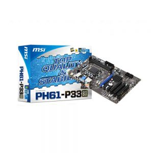 M.B MSI PH61-P33 LGA 1155