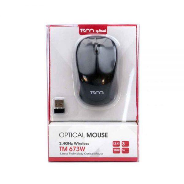 TSCO Wireless Optical Mouse TM 657W