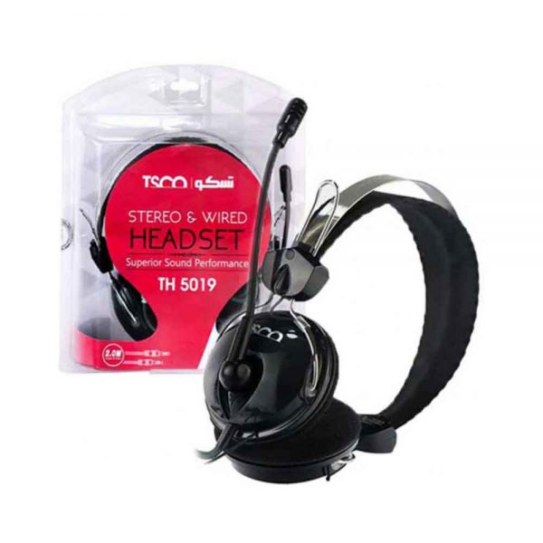Tsco Stereo & Wired Headset TH 5019