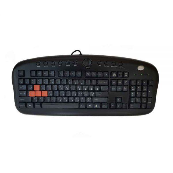 Used A4TECH USB Gaming Keyboard KB-28G