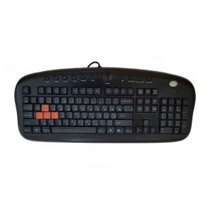 Used A4TECH USB Gaming Keyboard KB-28G