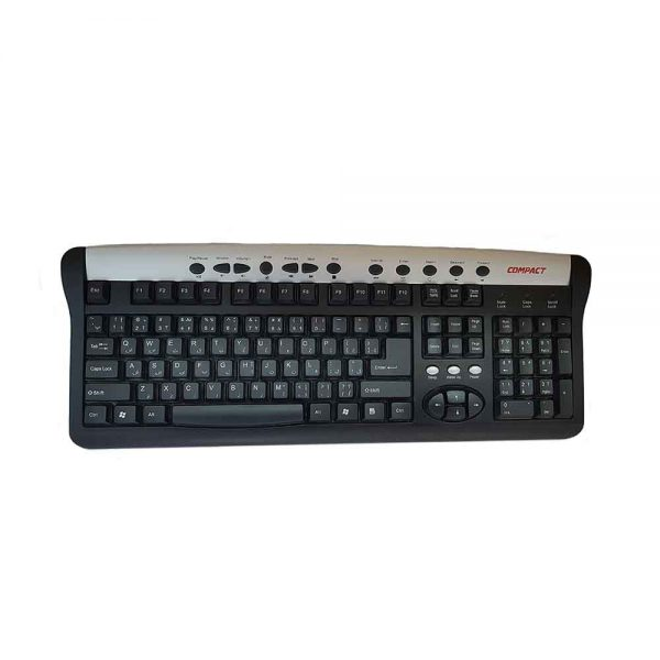 Used COMPACT PS2 Keyboard