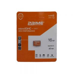microSDHC Prime 16GB 60Mbs