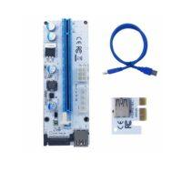 رایزر کارت گرافیک تبدیل پورت PCI 1X به 16X مدل 008s