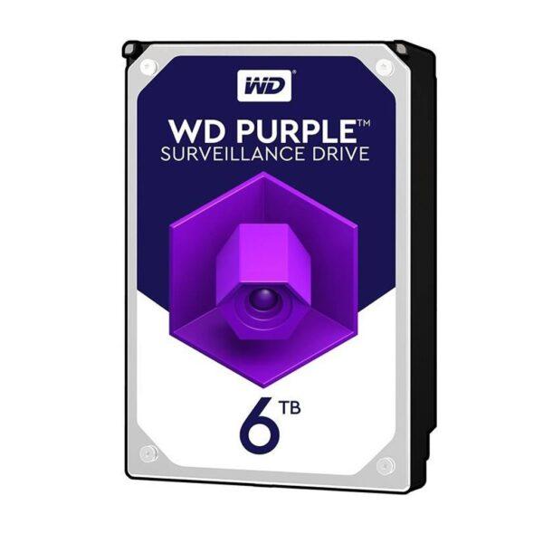 H.D.D W.D Purple Sata 6TB | هارد وسترن دیجیتال بنفش