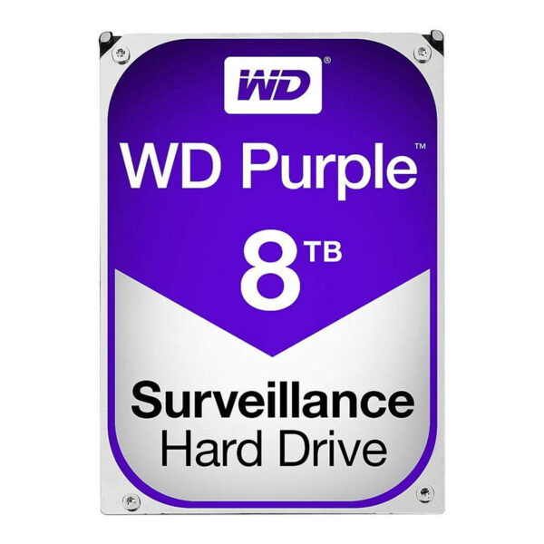 H.D.D W.D Purple Sata 8TB