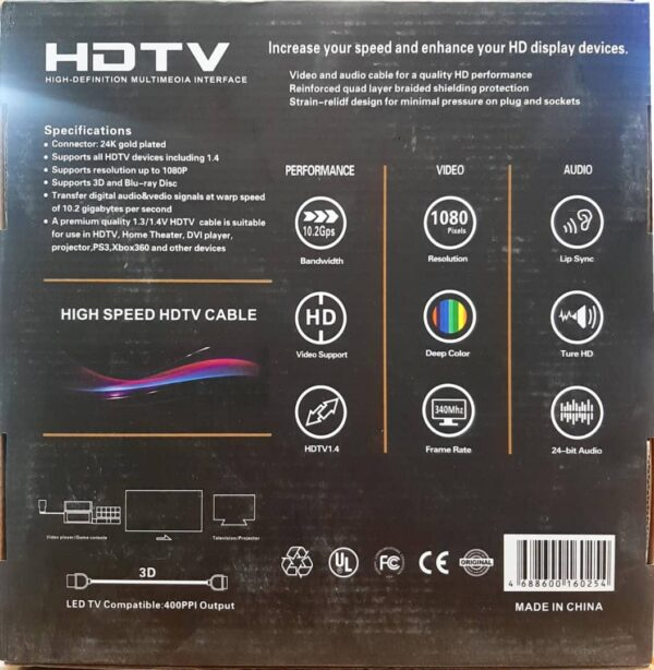 HDMI Royal 30M Back