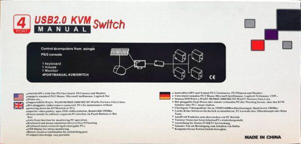 KVM 4 Port USB