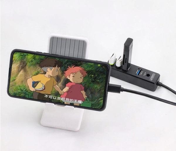 هاب 4 پورت USB ارلدام مدل ET-HUB08