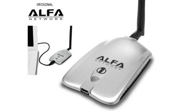 آداپتور شبکه یو اس بی بی سیم آلفا Alfa مدل AWUS036NH