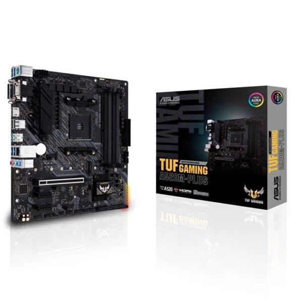 M.B Asus TUF Gaming A520M-Plus II