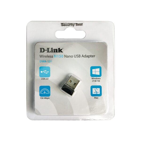 کارت شبکه USB بیسیم دی-لینک مدل DWA-121