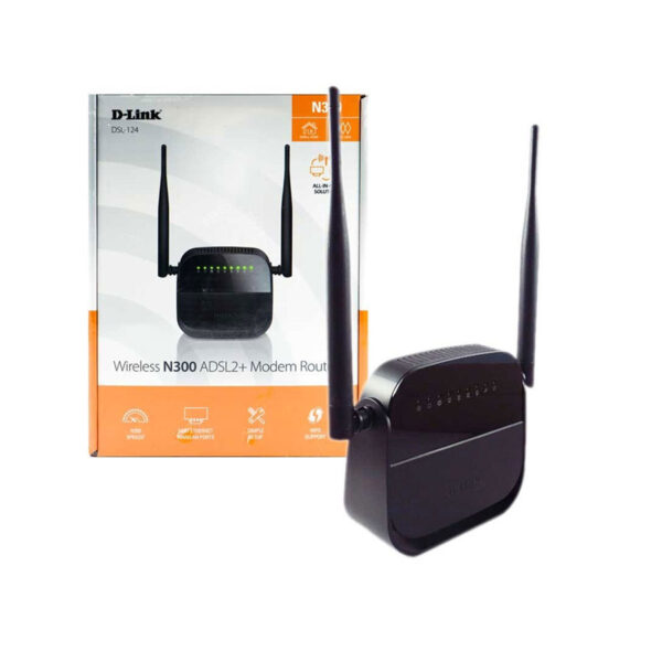 Modem ADSL D-Link DSL-124